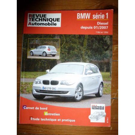BMW SERIE 1 DIESEL depuis 01/2007 RRTAB0739.5 Revue technique