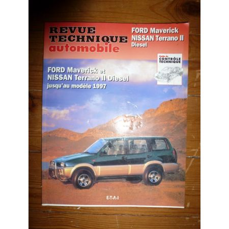 Maverick Terrano II -97 Revue Technique Ford