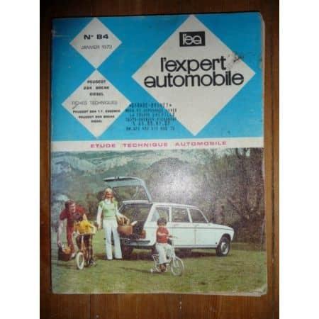 204 Bk D Revue Technique Peugeot