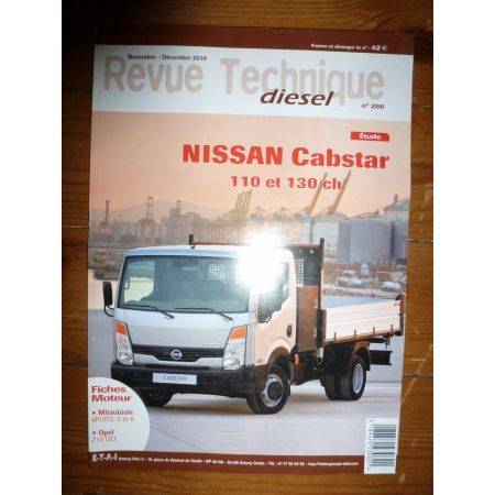 Cabstar 110 130cv Revue Technique Nissan
