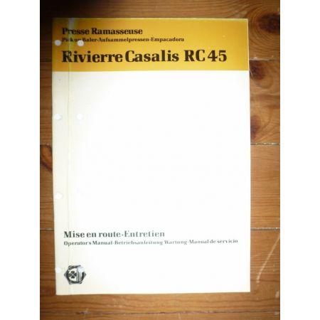RC45 Revue Technique Renault