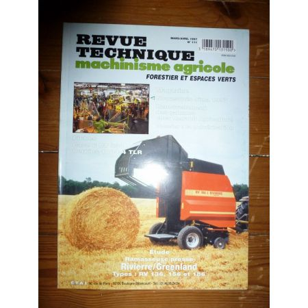 RV136 156 186 Revue Technique Agricole Rivierre Casalis
