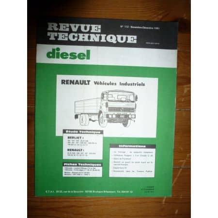 GLR230 GB231 Revue Technique PL Berliet Renault