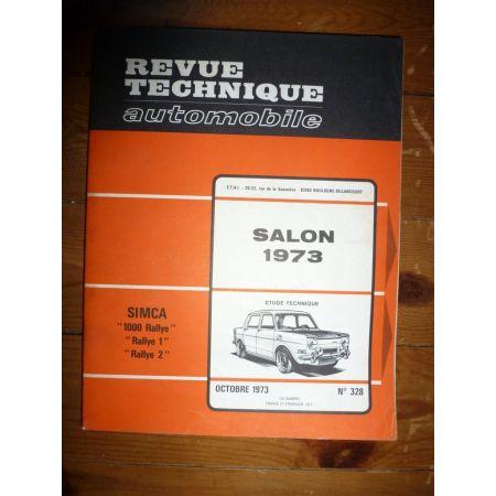 1000 Rallye Revue Technique Simca Talbot
