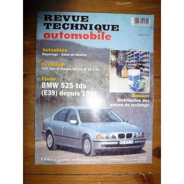 525TDS E39 Revue Technique Bmw
