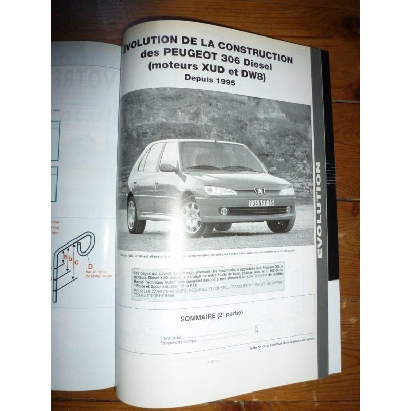 306 Die 95-00 Revue Technique Peugeot