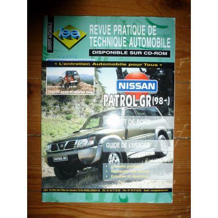 Patrol GR 98- Revue Technique Nissan