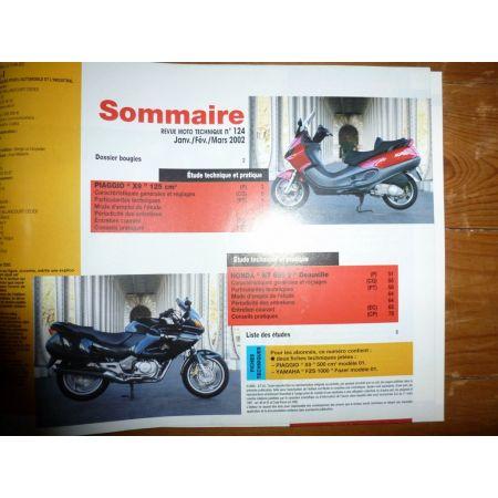 X9 NT650 Deauville Revue Technique moto Honda Piaggio