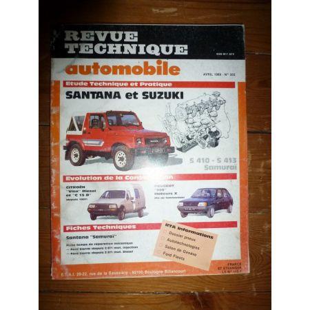 S410 S413 Revue Technique Santana