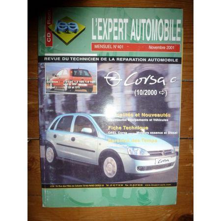 CORSA C Revue Technique Opel