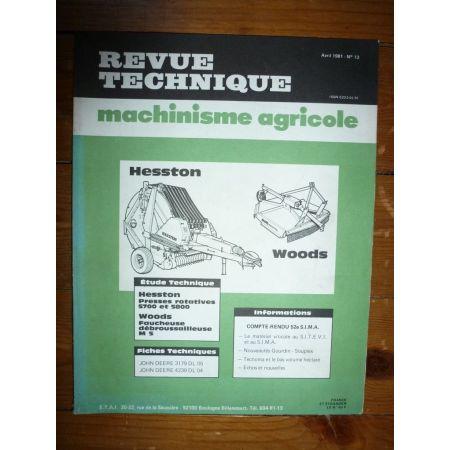 5700 5800 M5 Revue Technique Agricole Hesston