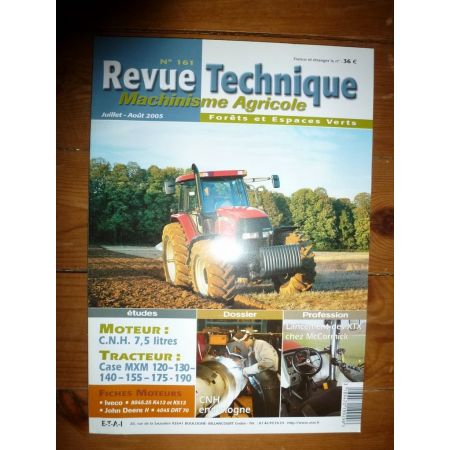 MXM 120 à 190 Revue Technique Agricole Case Axial