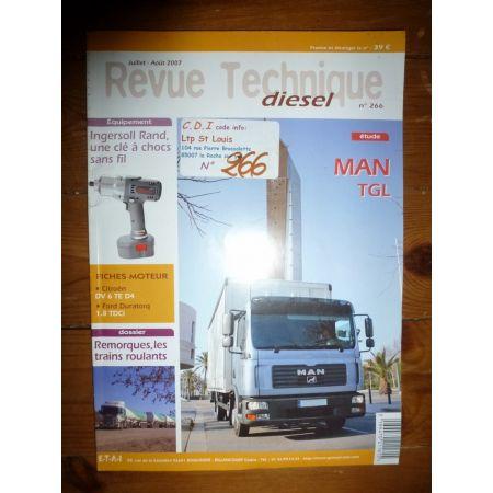 TGL Revue Technique PL Man Saviem Renault