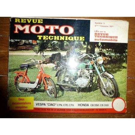 CIAO CB250 350 Revue Technique moto Honda Piaggio Vespa