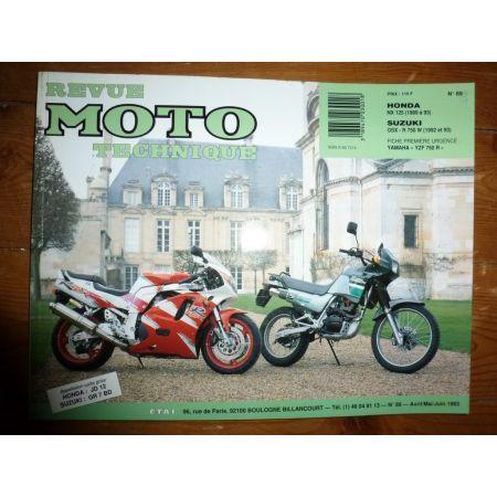 NX125 GSXR750 Revue Technique moto Honda Suzuki
