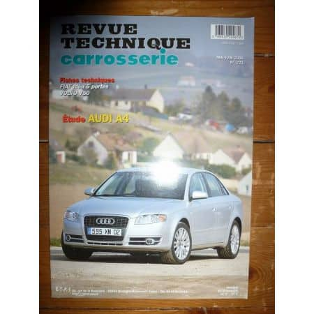 A4 04- Revue Technique Carrosserie Audi