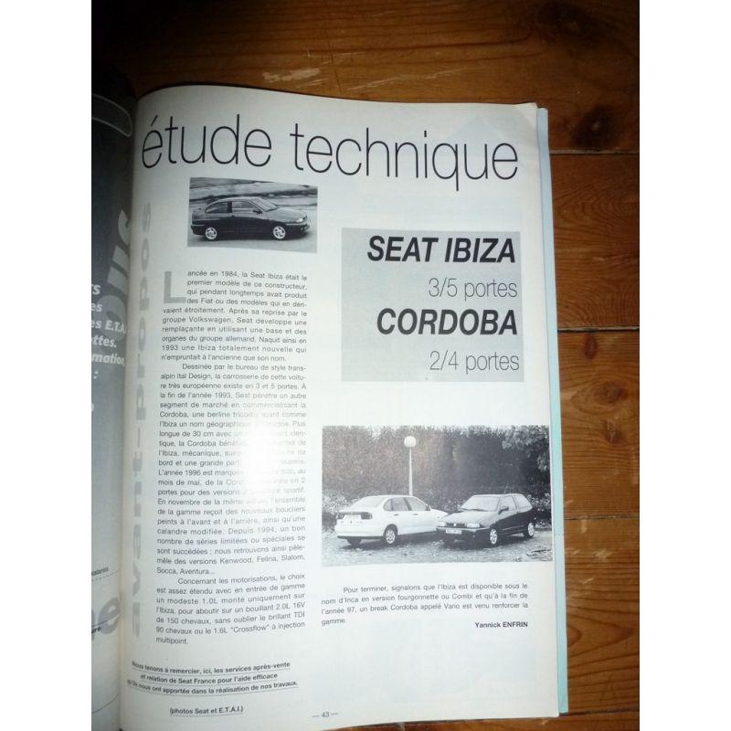 rta revue technique carrosserie seat ibiza et cordoba. Black Bedroom Furniture Sets. Home Design Ideas
