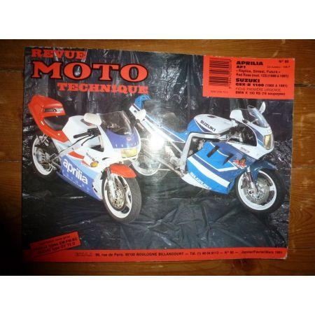AF1 GSXR1100 Revue Technique moto Aprilia Suzuki
