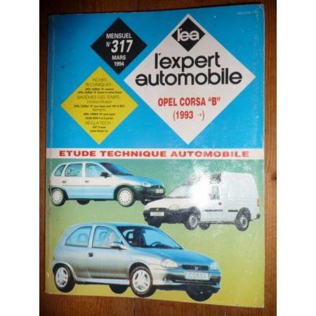 Corsa B 93- Revue Technique Opel