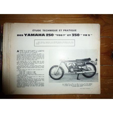 250YDS 350YR5 500H1 Revue Technique moto Kawasaki Yamaha
