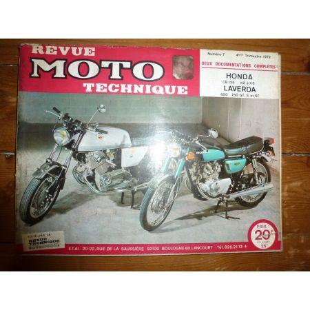 CB125 650 750 Revue Technique moto Honda Laverda