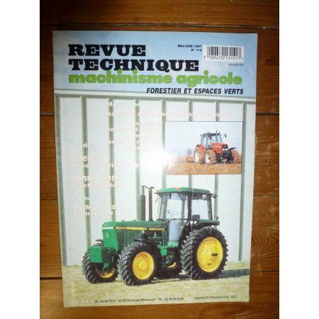Série 55 Revue Technique Agricole John Deere