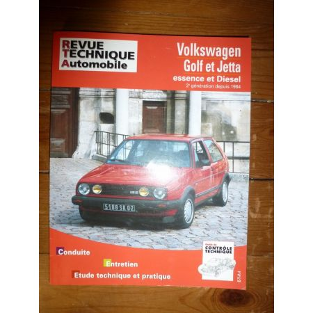 Golf Jetta 84- Revue Technique Volkswagen
