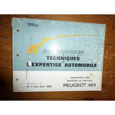 404 Revue Auto Expertise Peugeot