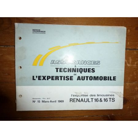 R16 TS Revue Auto Expertise Renault