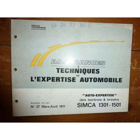 1301 1501 Revue Auto Expertise Talbot Simca