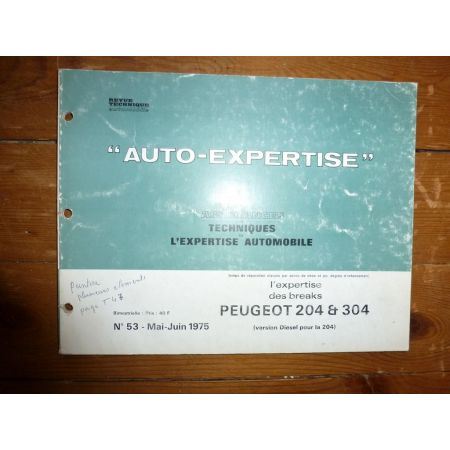 204 304 Revue Auto Expertise Peugeot