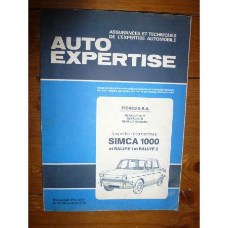 1000 Rallye I II Revue Auto Expertise Talbot Simca