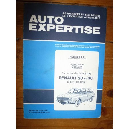 R20 R30 Revue Auto Expertise Renault