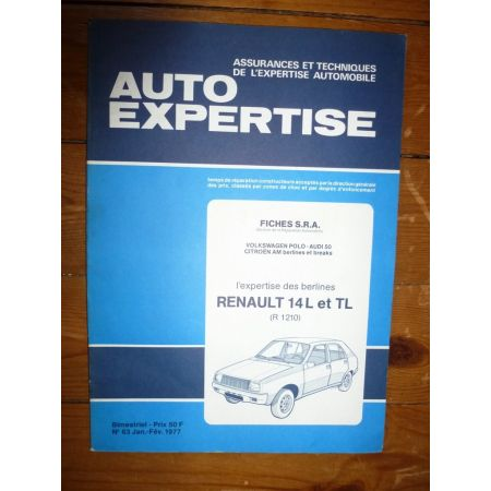 R14 L TL Revue Auto Expertise Renault