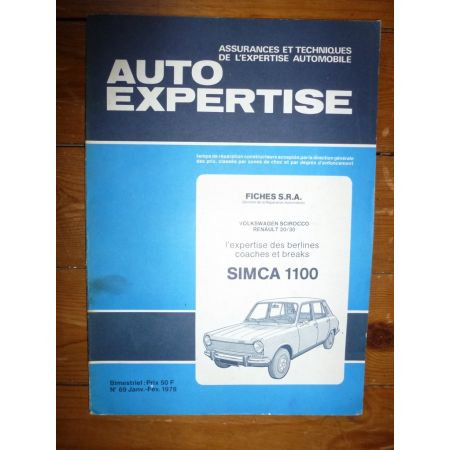 1100 Revue Auto Expertise Talbot Simca