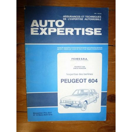 604 Revue Auto Expertise Peugeot