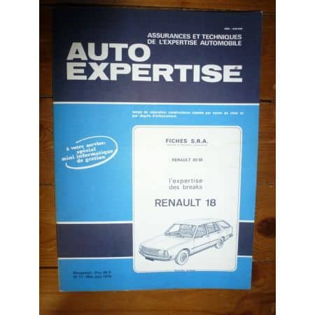 R18 Bk Revue Auto Expertise Renault