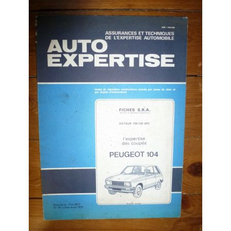 104 Coupe Revue Auto Expertise Peugeot