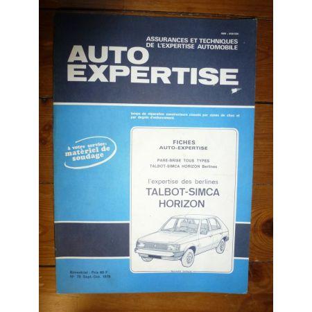 Horizon Revue Auto Expertise Talbot Simca