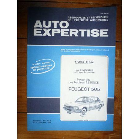 505 ess Revue Auto Expertise Peugeot