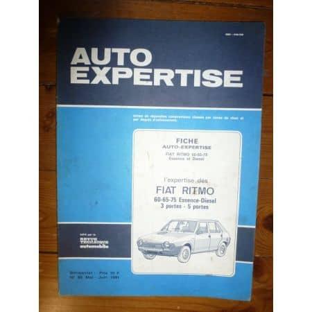 Ritmo 60 65 75 Revue Auto Expertise Fiat