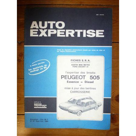 505 Revue Auto Expertise Peugeot