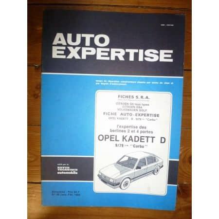 Kadett 79- Revue Auto Expertise Opel