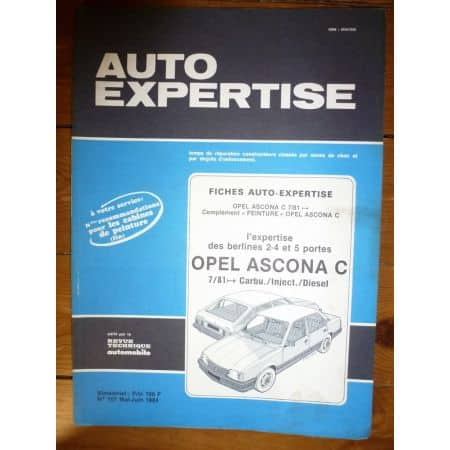 Ascona 81- Revue Auto Expertise Opel