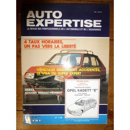 Kadett E Revue Auto Expertise Opel