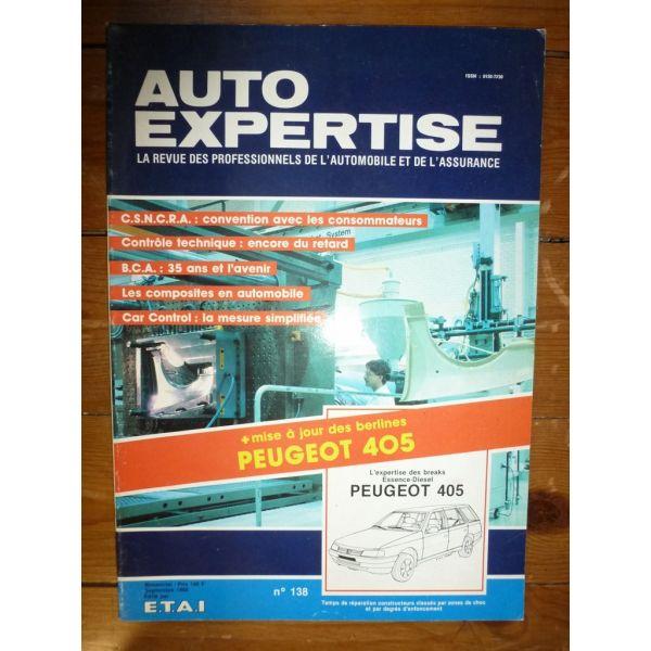 405 Bk Revue Auto Expertise Peugeot