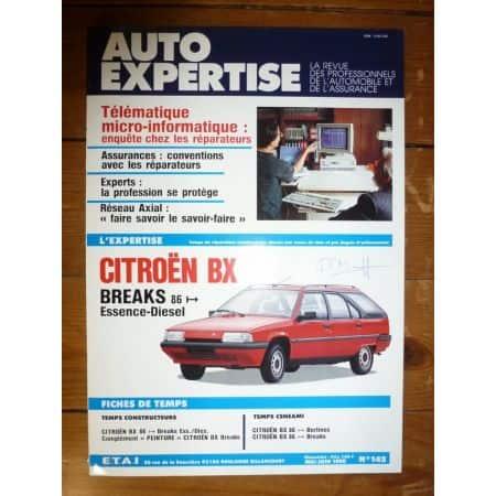 BX Bk 86- Revue Auto Expertise Citroen