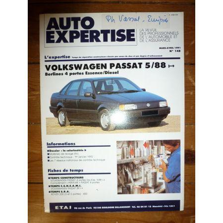 Passat 88- Revue Auto Expertise Volkswagen