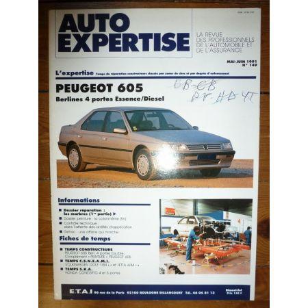 605 berl Revue Auto Expertise Peugeot
