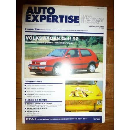 Golf 92- Revue Auto Expertise Volkswagen